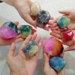 11月3日 福岡市、大名で宝石のような石鹸 georac®soapのワークショップ開催します♪